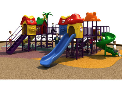 Discounted Metal Outdoor Play Equipment on Sale SJW-003