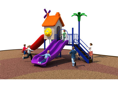 Small Old Playground Equipment with Best Price SJW-008