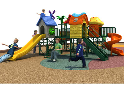 Residential Steel Playground Equipment Cape Town SJW-001
