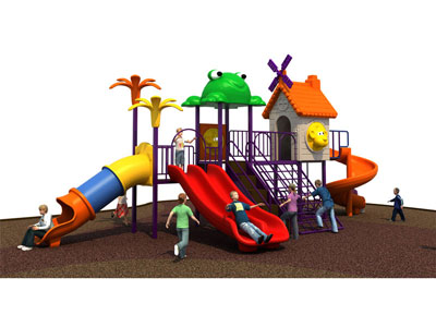 Plastic Outdoor Jungle Gym for Toddlers SJW-014