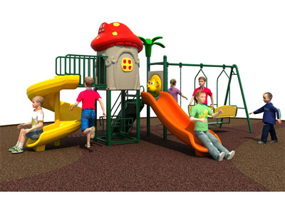 Cheap Kids Playhouse with Swing Set for Sale SJW-011