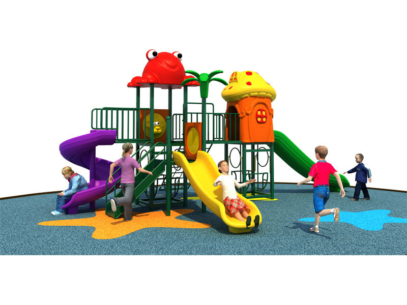 Used Outside Playsets for Toddlers with Swings SJW-017