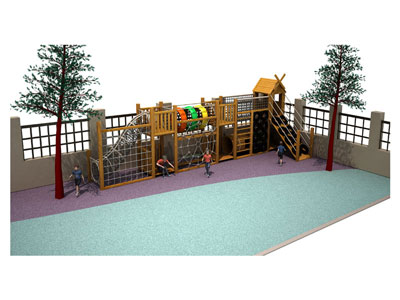 Outdoor Wooden Playsets for Toddlers MP-002