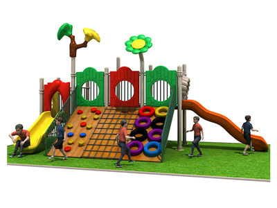 Natural Outdoor Wooden Playground Equipment for Sale MP-005