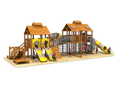 Large Wooden Playground Sets for Children MP-009