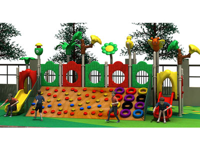 Wooden Climbing Playground Equipment for Kids MP-013