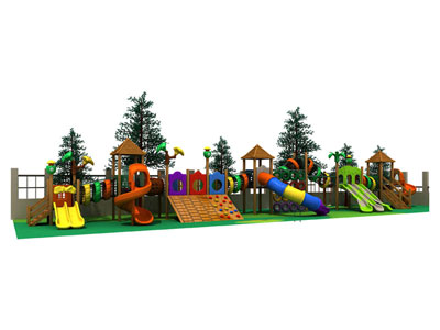Commercial Wooden Playground for Schools MP-001