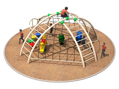 Outdoor Multiplay Monkey Bars for Backyard TP-011