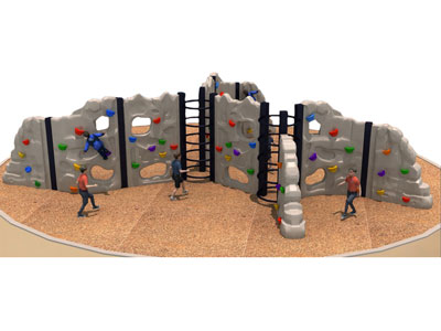 Upright Rock Climbing Wall Panels for Kids LP-015
