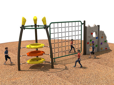 Build A DIY Kids Climbing Wall Outdoor LP-001-2