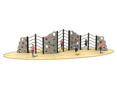 Outdoor Plastic Climbing Panels for Children LP-005