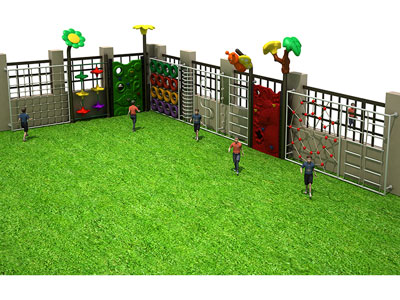 Cheap Climbing Frames for Small Gardens PQ-004