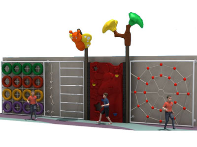 Outdoor Kids Climbing Play Structure for Parks PQ-013