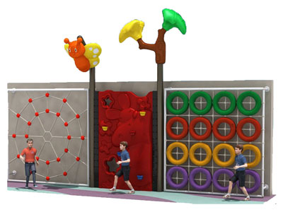 Outdoor Rock Climbing Play Structure for Toddlers PQ-019