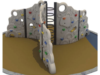 Outdoor Kids Rock Wall Climbing Near me LP-028