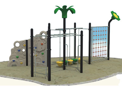 Fabulous Kids Backyard Climbing with Monkey Bar LP-029