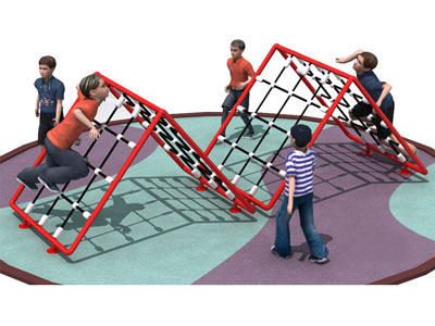 Free Standing Backyard Rope Climb for Toddlers ODCS-021