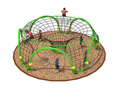 Commercial Playground Climbing Net for Preschools ODCS-006
