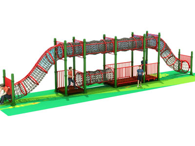 Outdoor Rope Bridge for Kids Activity and Play GZ-009