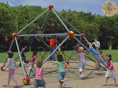 Outdoor Kids Climbing Nets for Playgrounds BGZ-001