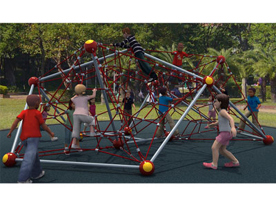 Outdoor Playground Rope Net Climbing for Kids BGZ-002
