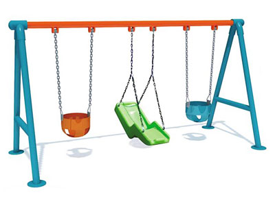 Cheap Backyard Swing Sets for Toddlers SW-003