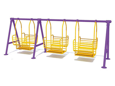 Cheap Outdoor Metal Swing Sets for Toddlers SW-006