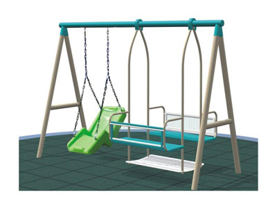 Hot Selling Double Infant Swing Set Outdoor SW-012