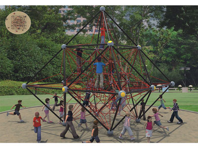 Outdoor Playground Rope Climbing Net for Kids BGZ-004