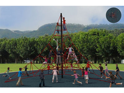 Outdoor Steel Wire Rope Climbing Nets for Preschool Kids BGZ-006