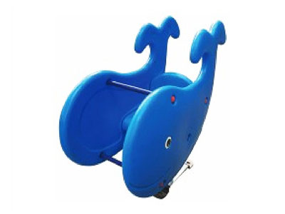 Whale Spring Rider Playground Equipment for Sale SR-019