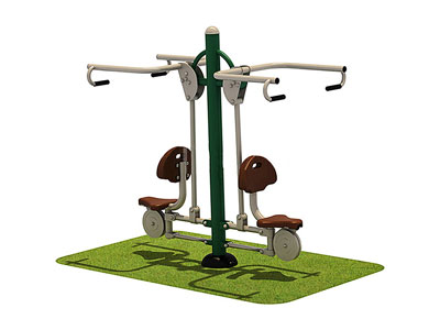 Park Workout Equipment Double Pull Chairs for Adults OF-013