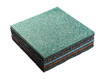 Eco-friendly Outdoor Rubber Mat for Playground PM-001