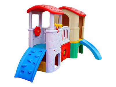 Toddler Indoor Playhouse with Slide SH-021