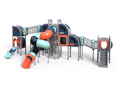 Fancy Kids Outdoor Play Gym for Sale MH-009