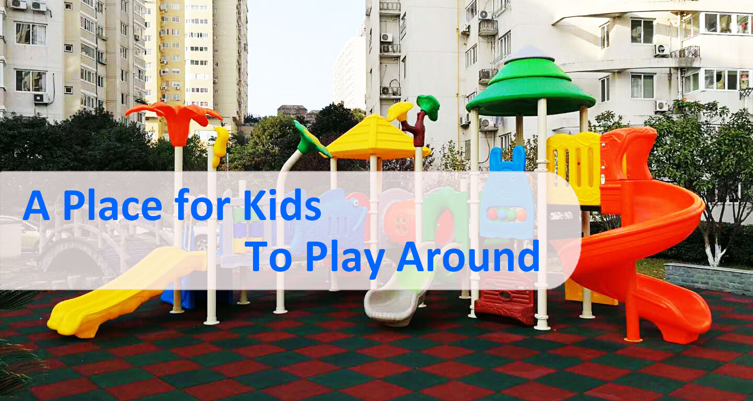 Plastic Outdoor Playset for Toddlers