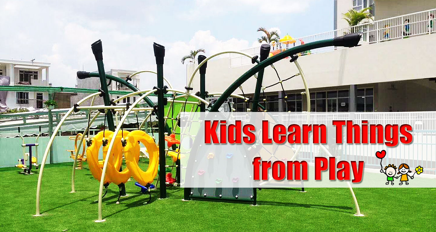 Outdoor Kids Plastic Climber and Slide for Public Use