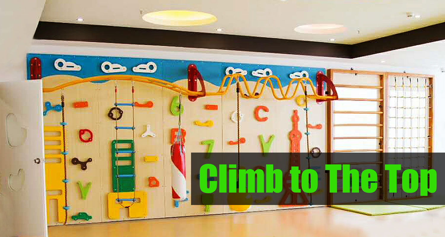 Customized Kids Indoor Climbing Structure for Sale